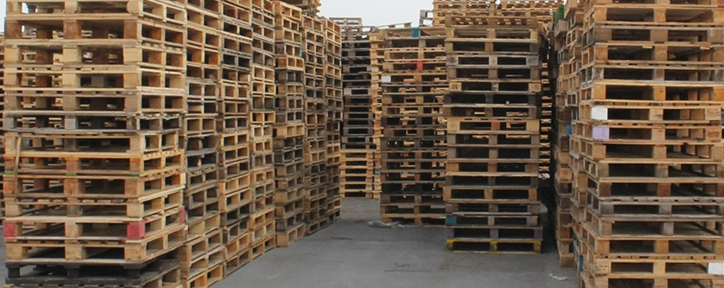 recycling for biomass pallet waste